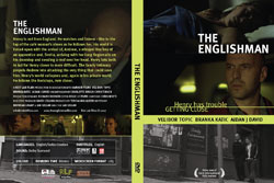 'The englishman' movie DVD cover - Mavo Studio London - Graphic design and web development London