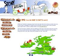 Stony Yogurt Website Screen Grab