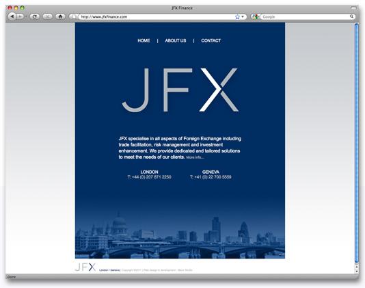 JFX-Website